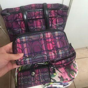 COACH makeup bag.